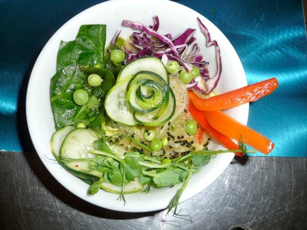veggie soup bowl