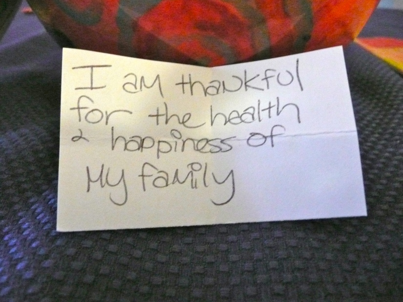 Thankful for Health & Happiness